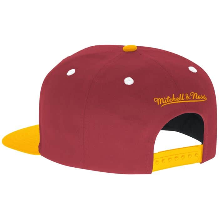 huge discount 3eaf1 6fb5d Script Snapback Washington Redskins Mitchell & Ness ...