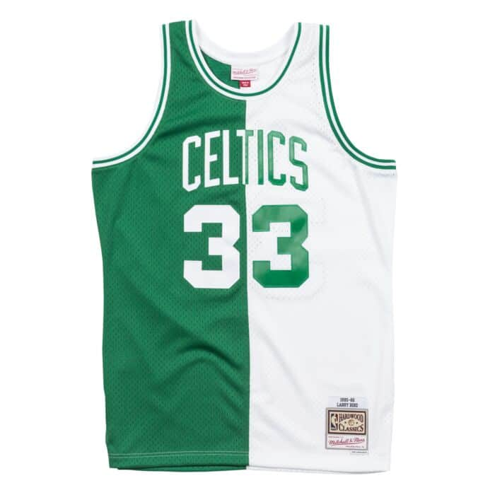 buy popular 7a291 4895c Split Home & Away Swingman Jersey Boston Celtics 1985-86 ...
