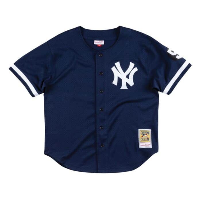 watch 4d46e 3baae Authentic Mesh BP Jersey New York Yankees 1999 Mariano Rivera