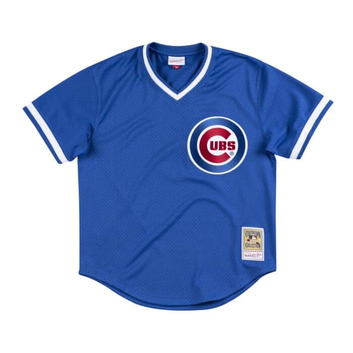 new styles 44bd1 b7a1a Authentic Mesh BP Jersey Chicago Cubs 1987 Andre Dawson