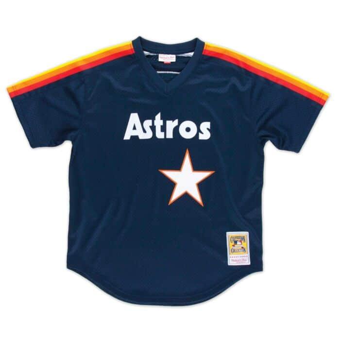 timeless design be540 3f371 Authentic Mesh BP Jersey Houston Astros 1988 Nolan Ryan