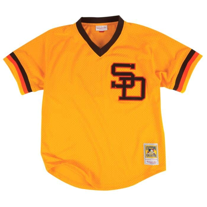 newest collection 2a681 29e6f Authentic Mesh BP Jersey San Diego Padres 1982 Tony Gwynn ...