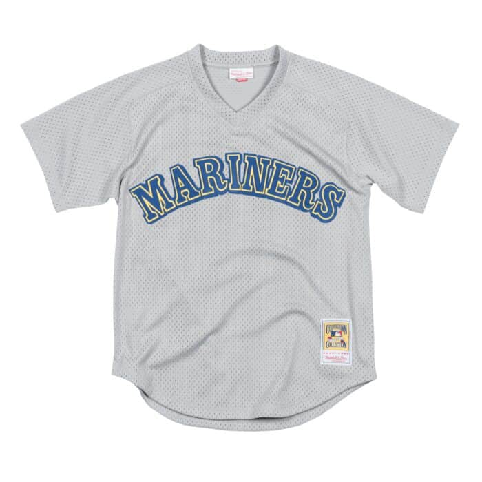 new concept dbde4 a1fed Authentic Mesh BP Jersey Seattle Mariners 1989 Ken Griffey Jr.