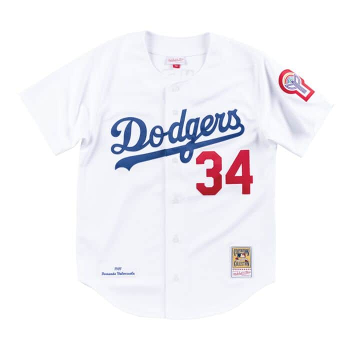 new style d8653 ac16a Los Angeles Jersey Authentic Home Dodgers sentimentally ...