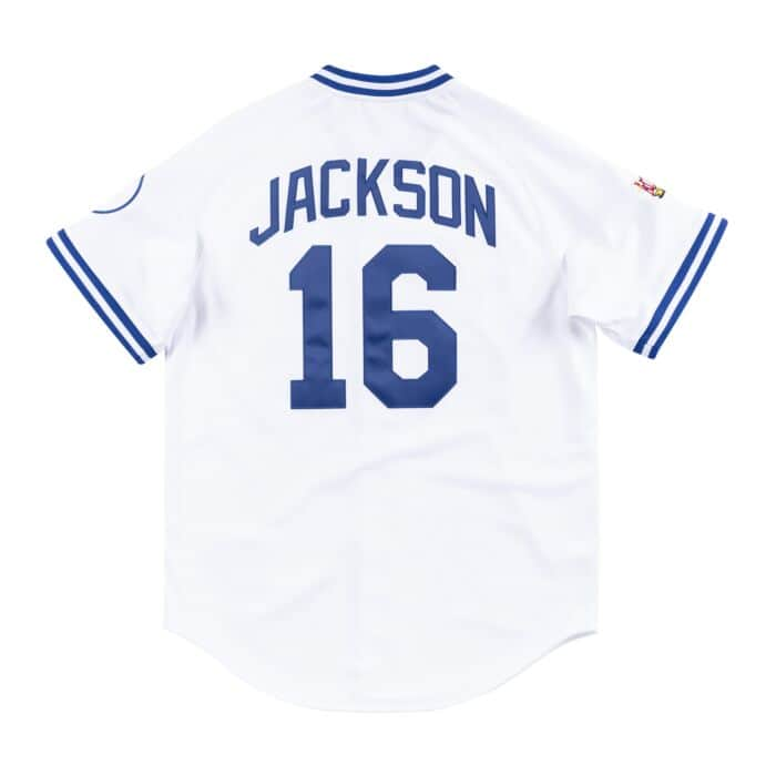 reputable site 9fbef 0d58b Authentic Jersey Kansas City Royals Home 1989 Bo Jackson ...