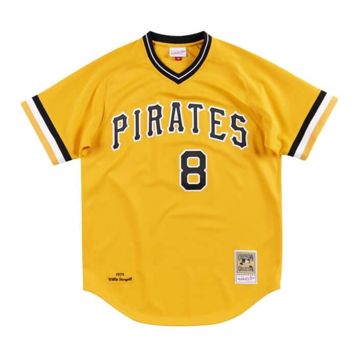 detailed look 65be6 a4643 Authentic Jersey Pittsburgh Pirates Road World Series 1979 Willie Stargell