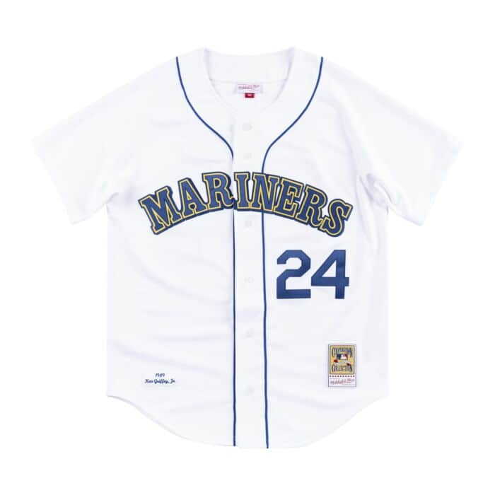new product 45305 dfb54 Authentic Jersey Seattle Mariners Home 1989 Ken Griffey Jr ...