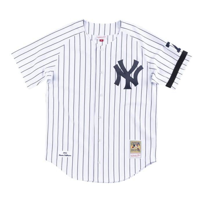 new concept 62a3f 1be65 Authentic Jersey New York Yankees Home 1995 Bernie Williams