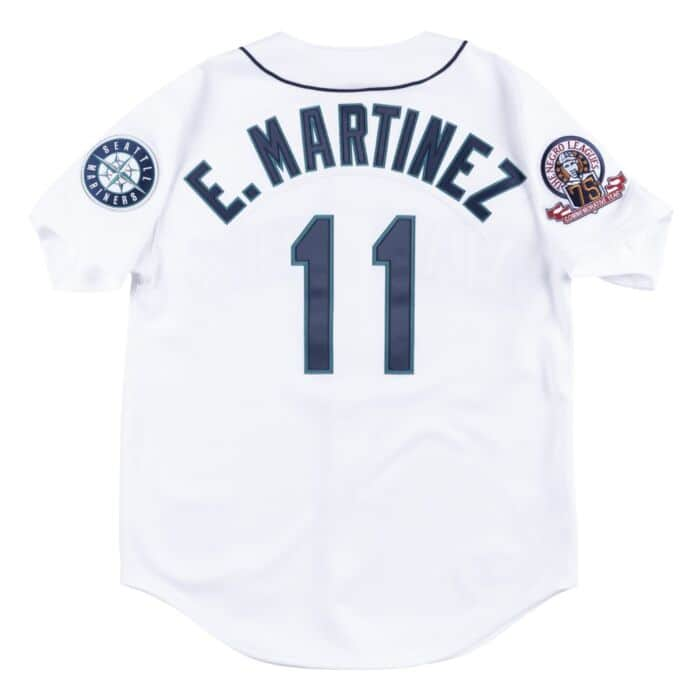 reputable site 88afe 9dac4 Authentic Jersey Seattle Mariners Home 1995 Edgar Martinez