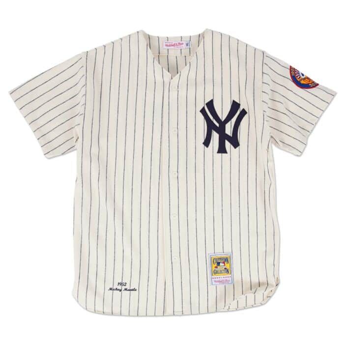newest b342c 62a72 Authentic Jersey New York Yankees Home 1952 Mickey Mantle
