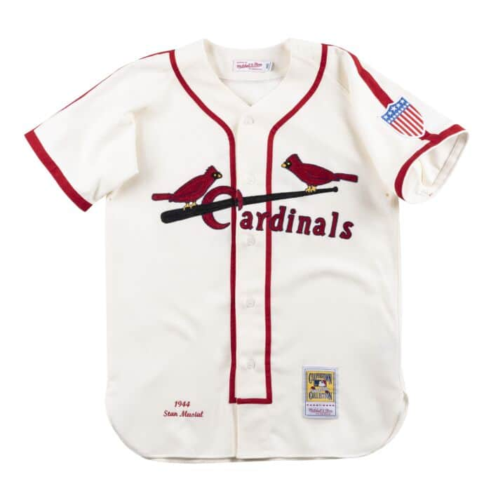 pretty nice 91d83 37816 Authentic Jersey St. Louis Cardinals Home 1944 Stan Musial