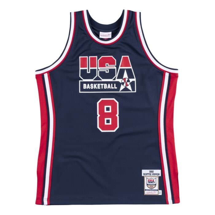the latest 84918 f55f4 scottie pippen usa jersey