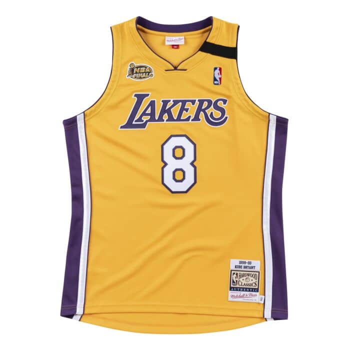 Authentic Jersey Los Angeles Lakers Home Finals 1999 00 Kobe Bryant Shop Mitchell Ness Authentic Jerseys And Replicas Mitchell Ness Nostalgia Co