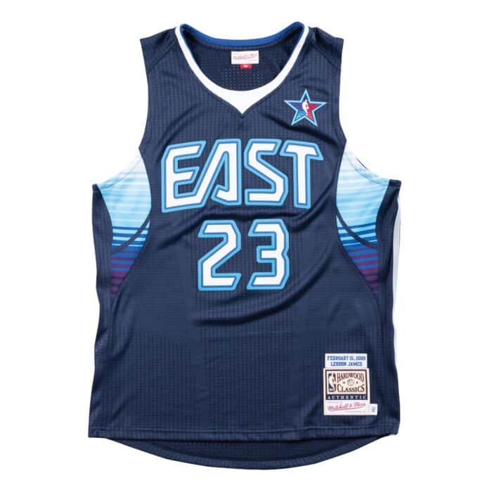 the best attitude 80834 87a90 Authentic Jersey All-Star East 2009 Lebron James