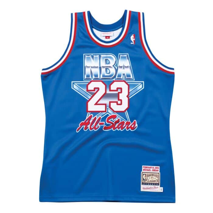 online store f933b 0892c Authentic Jersey All-Star East 1993 Michael Jordan