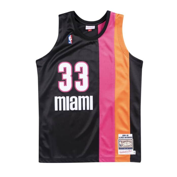 low priced 3e09e 24674 Authentic Jersey Miami Heat Alternate 2005-06 Alonzo Mourning