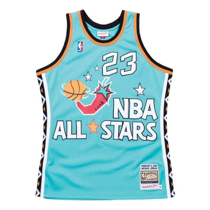 new product f74a2 229c2 Authentic Jersey All-Star East 1996 Michael Jordan