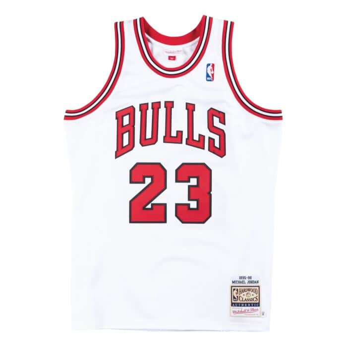 release date: 645a6 f9a7b Authentic Jersey Chicago Bulls Home 1995-96 Michael Jordan