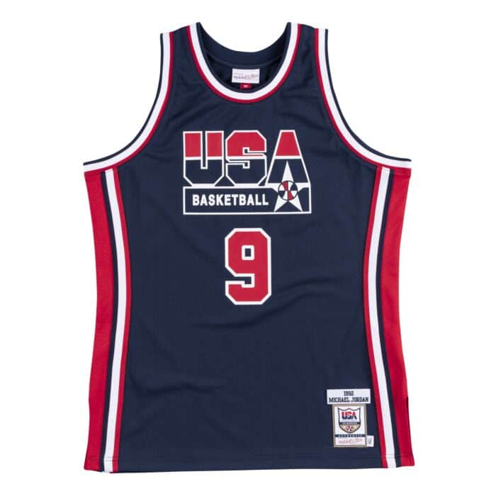 the latest a0a24 bb26a Authentic Jersey Team USA 1992 Michael Jordan