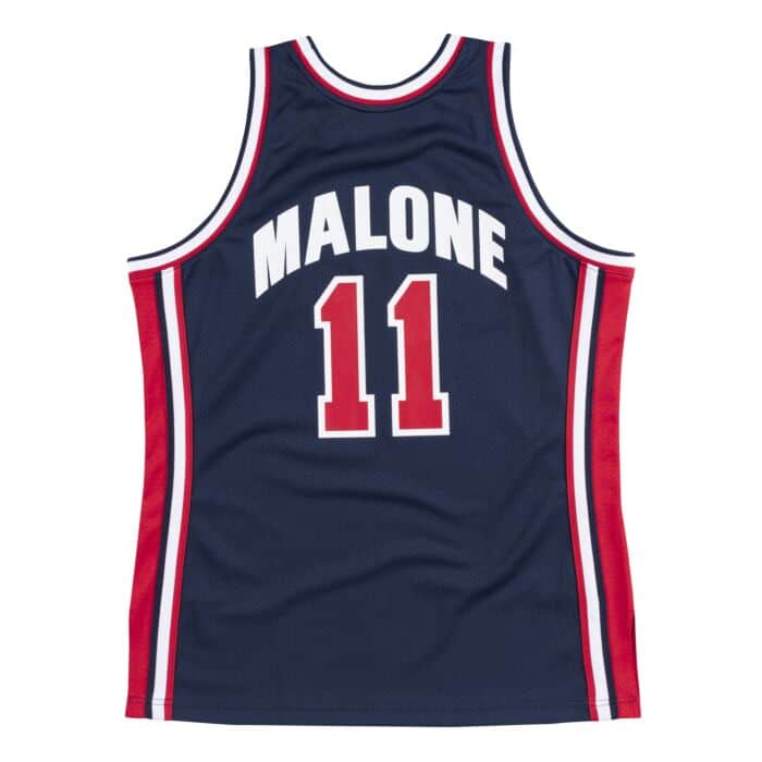 designer fashion 1d559 42ae7 Authentic Jersey Team USA 1992 Karl Malone