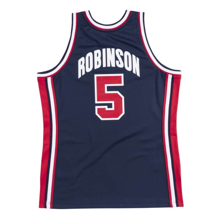 detailed look 0c707 4a581 Authentic Jersey Team USA 1992 David Robinson