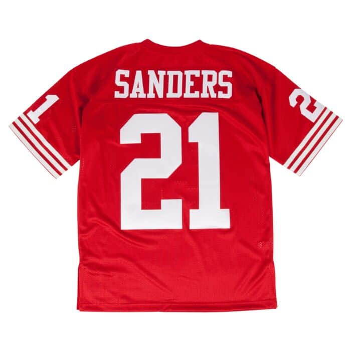 best service 11b9a 6a37f Authentic Jersey San Francisco 49ers 1994 Deion Sanders