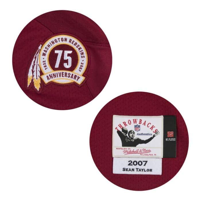 hot sale online c26c6 1cfdf Authentic Jersey Washington Redskins 2007 Sean Taylor - Shop ...