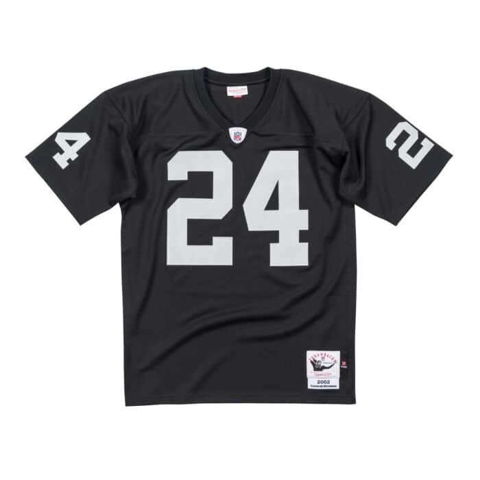 reputable site 911cf a2923 Authentic Jersey Oakland Raiders 2002 Charles Woodson