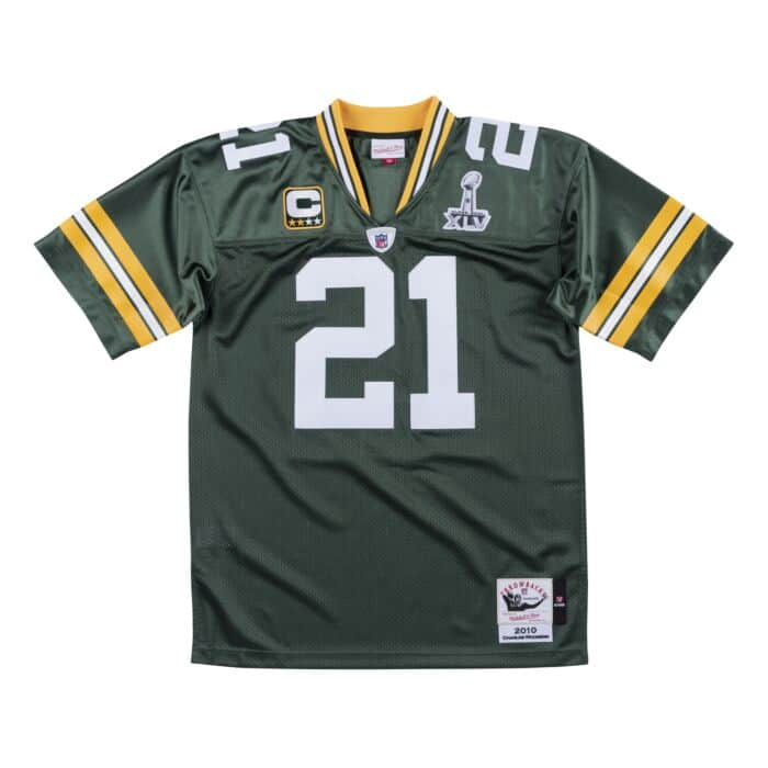 huge selection of 9e7d1 f21d0 Authentic Jersey Green Bay Packers Super Bowl 2010 Charles Woodson