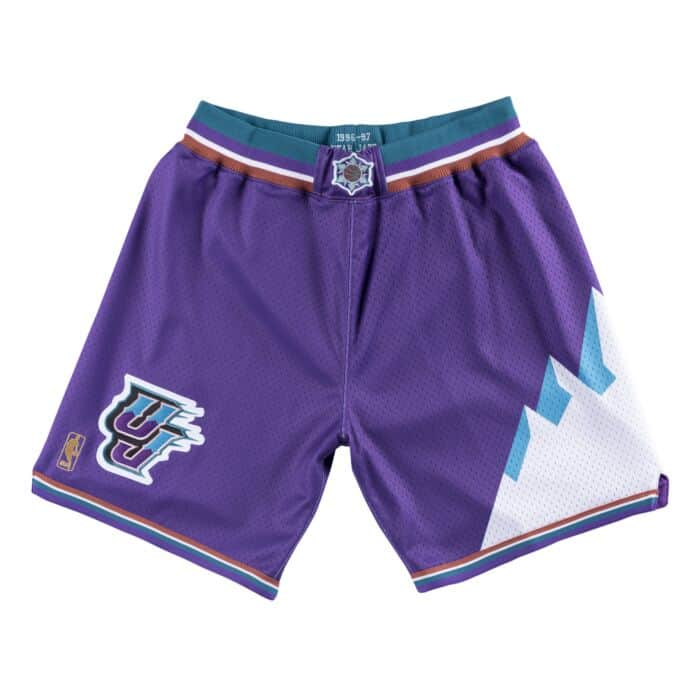 the latest a9340 86849 Authentic Shorts Utah Jazz 1996-97 - Shop Mitchell & Ness ...