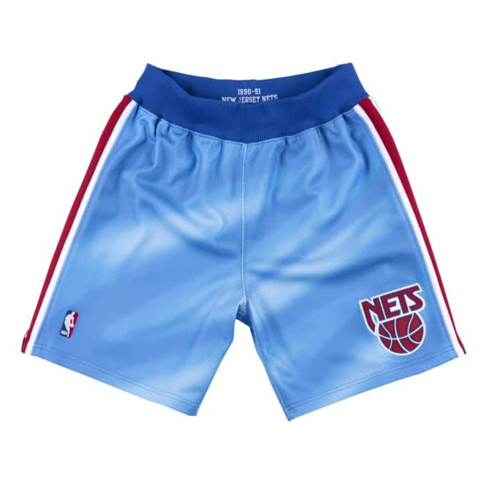 separation shoes df8fc 7ea0e Authentic Shorts New Jersey Nets 1990-91
