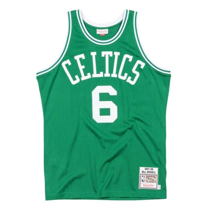 competitive price 954c1 5c781 Bill Russell 1967-68 Road Boston Celtics Authentic Jersey