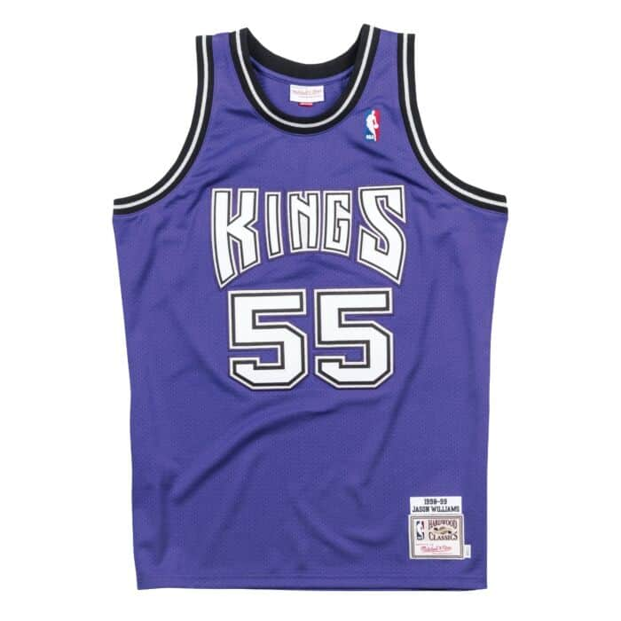 super popular a122a 39b32 Jason Williams 1998-99 Sacramento Kings Alternate Authentic Jersey