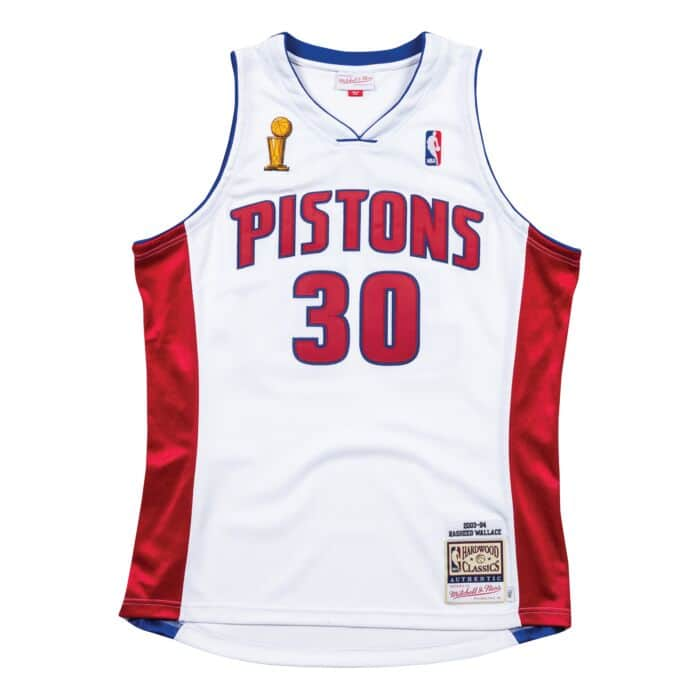 purchase cheap 66cb8 8b7df Authentic Jersey Detroit Pistons Home Finals 2003-04 Rasheed Wallace