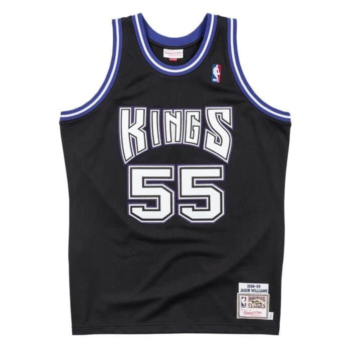 check out 24278 ec51b Authentic Jersey Sacramento Kings Road 1998-99 Jason Williams