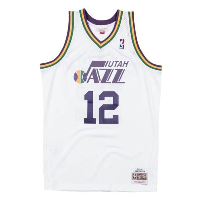 huge discount 75352 6bc80 Swingman Jersey Utah Jazz Home 1991-92 John Stockton ...