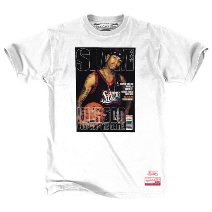 Mitchell /& Ness Philadelphia 76ers Allen Iverson T-Shirt
