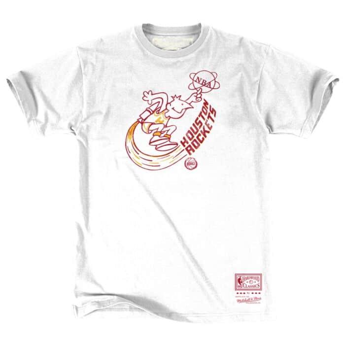 Small New S - Black Houston Rockets Mitchell /& Ness Men/'s NBA T-Shirt