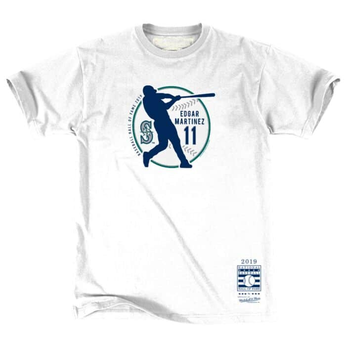 buy popular 02fad 930d6 Hall Of Fame Batting Tee Seattle Mariners Edgar Martinez ...