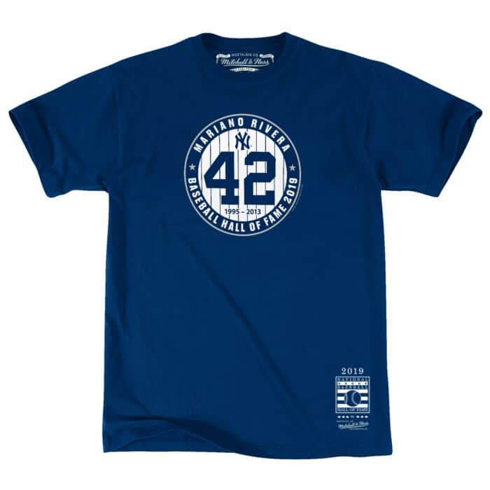 competitive price d0e96 6ce8f Hall Of Fame #42 Tee New York Yankees Mariano Rivera