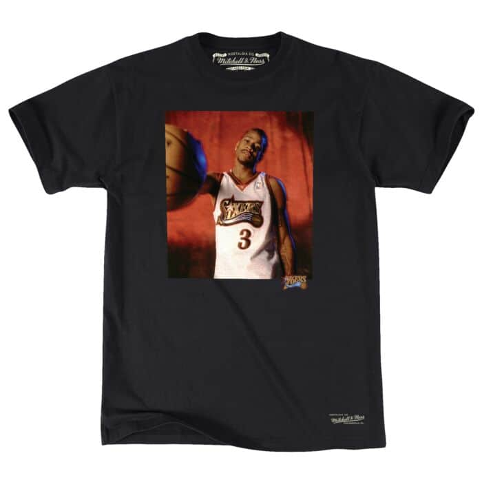 size 40 53d44 79c4e Off Court Tee Philadelphia 76ers Allen Iverson - Shop ...