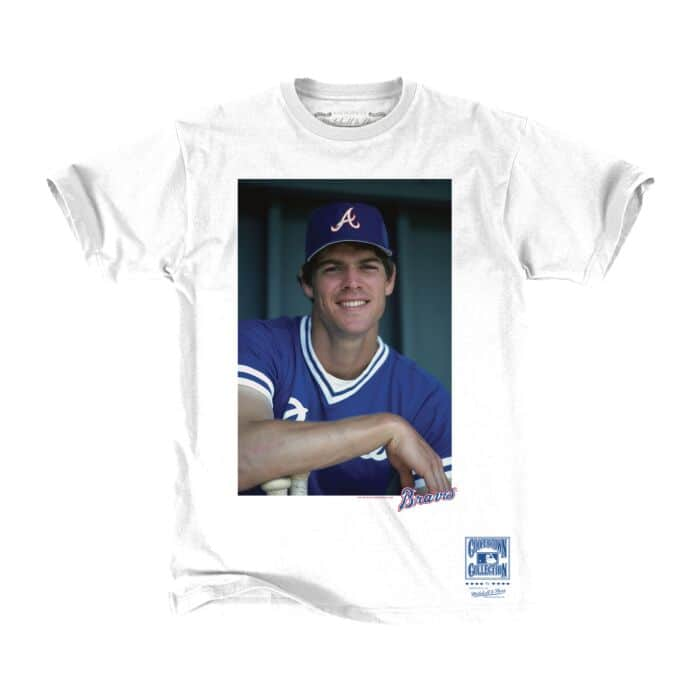 huge discount 551fe 052fc Off Field Tee Atlanta Braves Dale Murphy - Shop Mitchell ...