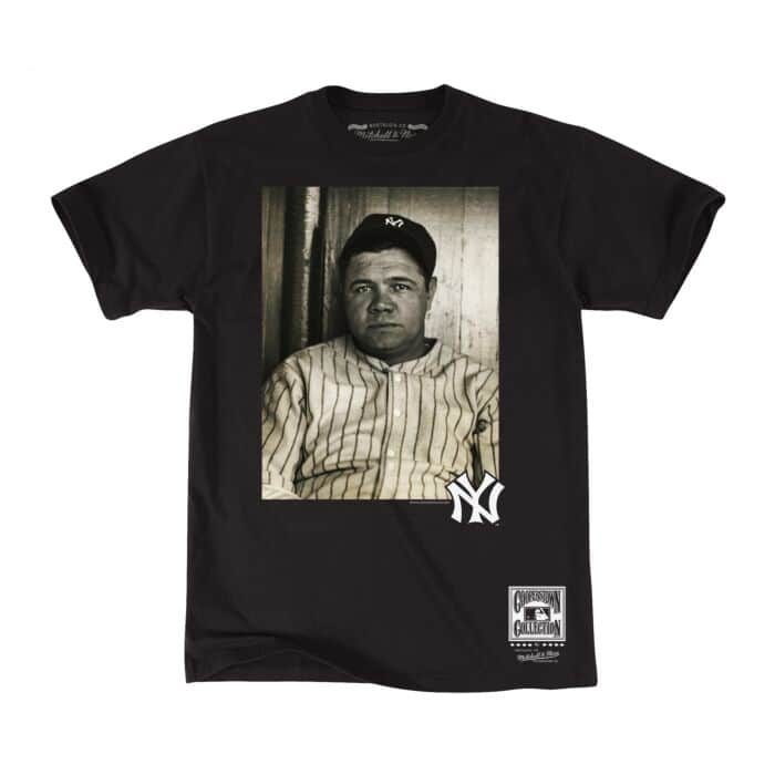 half off 3d7bf 3828a Off Field Tee New York Yankees Babe Ruth - Shop Mitchell ...