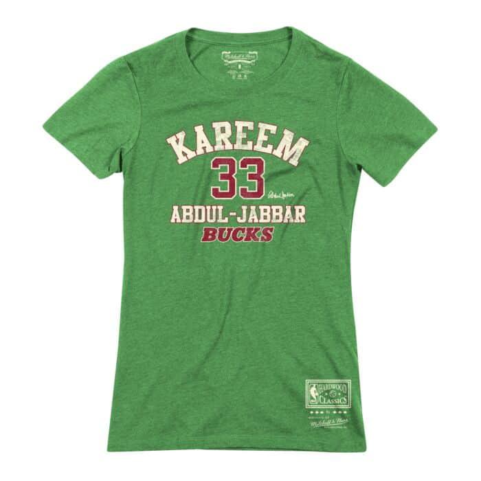 100% authentic e4458 c413b Women's Classic Tee Milwaukee Bucks Kareem Abdul-Jabbar