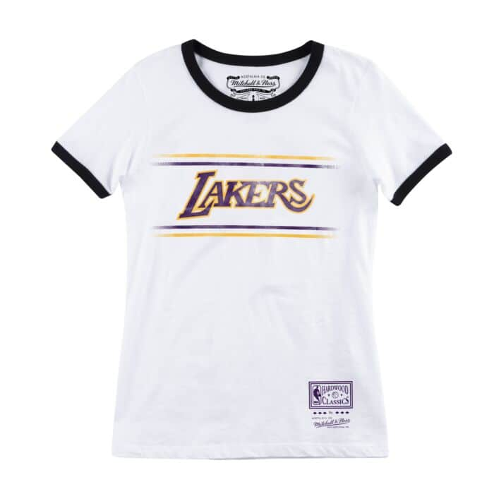newest 7c493 f2a02 Women's Ringer Tee Los Angeles Lakers