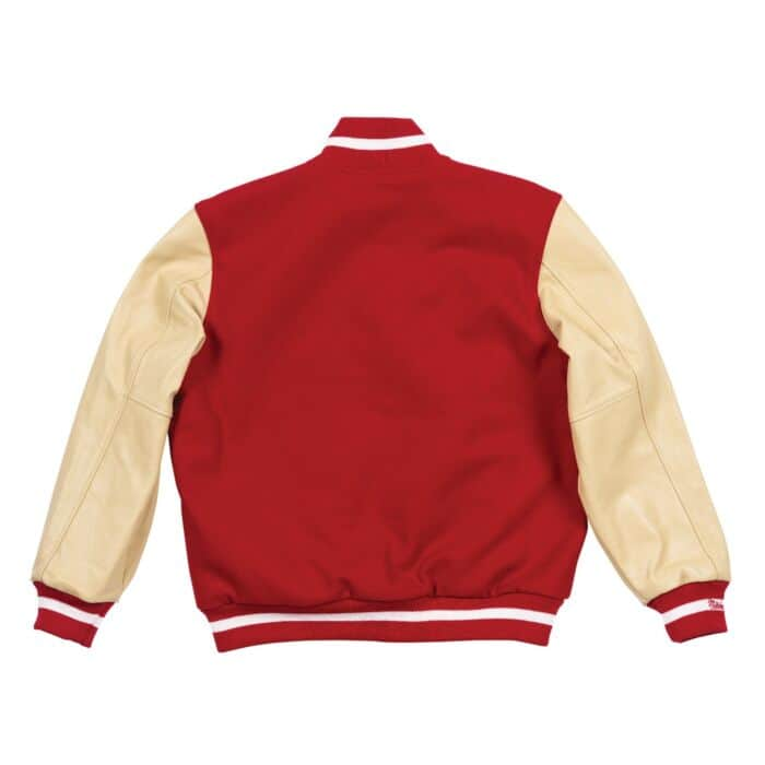 sports shoes 7bace 8676f Authentic Wool Varsity Jacket San Francisco 49ers