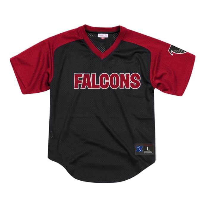 best website b950b 9f056 Final Seconds Mesh V-Neck Atlanta Falcons