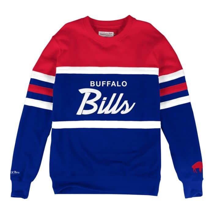 official photos b3c2e d81bd Head Coach Crew Buffalo Bills - Shop Mitchell & Ness Fleece ...