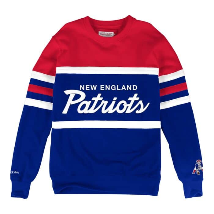 sports shoes 35d21 c7fd6 Head Coach Crew New England Patriots - Shop Mitchell & Ness ...