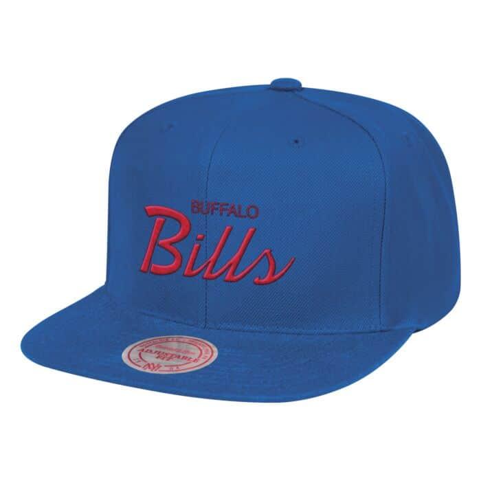 25934de24 Script Snapback Buffalo Bills